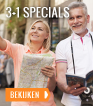 3+1 Specials: Gratis extra nacht