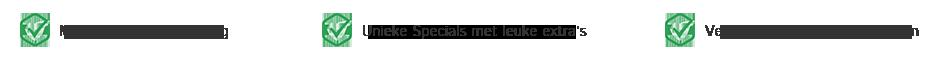 Wij bieden jou | Lokale kennis | 15 jaar ervaring | Specials met extra's