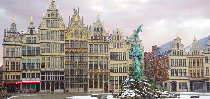 Valentijn in Antwerpen