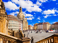 Dresden zomer