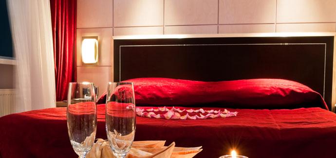 Romantische arrangementen hotel aanbiedingen bij hotel specials - Romantische kamers ...
