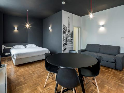 Vierpersoonskamer met keuken