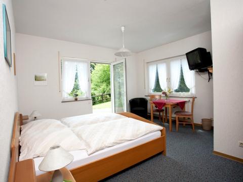 Standaardkamer in Gästehaus met Terras